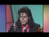 '89  Michael Jackson Receives Award from Elizabeth Taylor and Eddie Murphy (HD1080i)