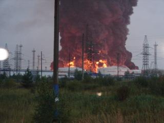 Взрыв 22.08.2009 на ПДС «Конда». Очевидец.