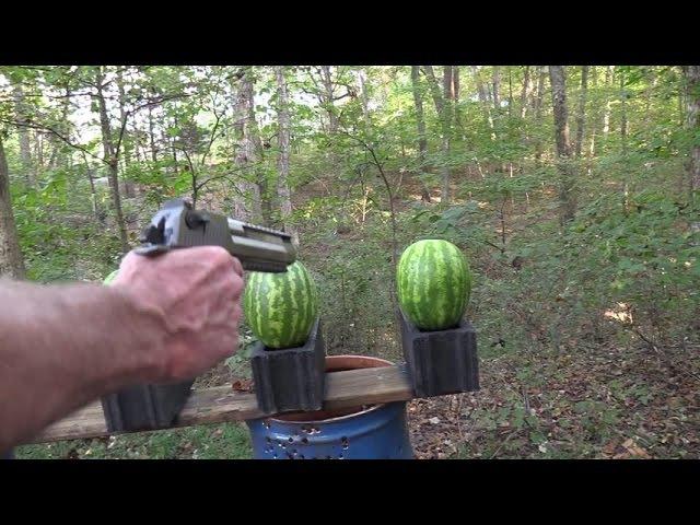 .50 AE Desert Eagle vs Watermelons