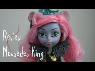 Обзор на куклу Monster High Мауседес Кинг/Mousedes King