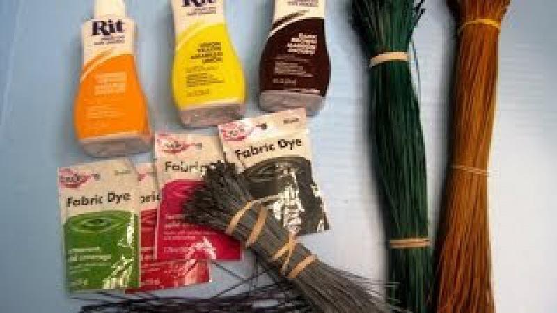 How to dye pine needles ~ Featuring Miriam Joy