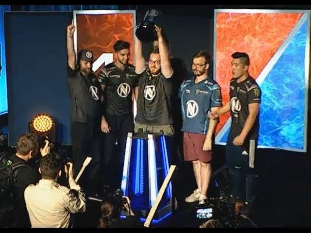 EnVyUS 🏆 Dreamhack Astro Atlanta 2017 Champions! 2:1 wins vs Heroic Grand Final. AfterGame