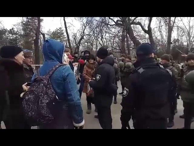 Сепаратистов не пускают на Аллею Славы в Одессе