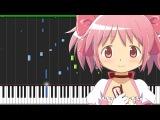 Decretum - Mahou Shoujo Madoka Magica Piano Tutorial (Synthesia) JB AnimePiano