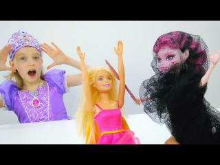 #СофияПрекрасная спасает #Барби и другие куклы! #ИгрыДляДевочек Вечеринка Магия ...