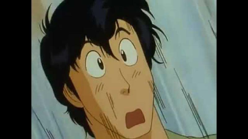 Появление Явары в аниме Городской охотник. Момент. Отрывок. Anime City Hunter 91