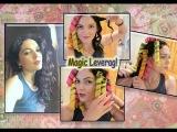 Как сделать локоны без вреда для волос!Бигуди Magic Leverag.Волшебные бигуди - красивы ...