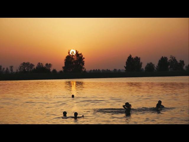 Озеро в д. Горного. Закат