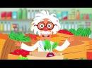 ОВОЩИ - Развивающая песенка мультик про полезную еду и синий трактор для детей малышей - Видео Dailymotion