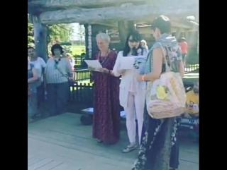 Награждение призеров Фестиваля лоскутного шитья в Суздале