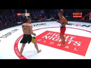 Нокаут Али Багаутдинов vs Тайсон Нэм [Нетипичная Махачкала]