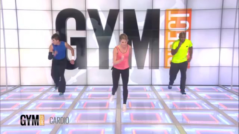 Gym Direct - Sandrine Cardio training Renforcement musculaire ep 120