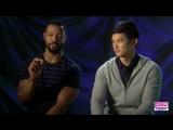 Justine Magazine_ Shadowhunters Season 2 Chat with Kat, Dom, Harry  Isaiah!