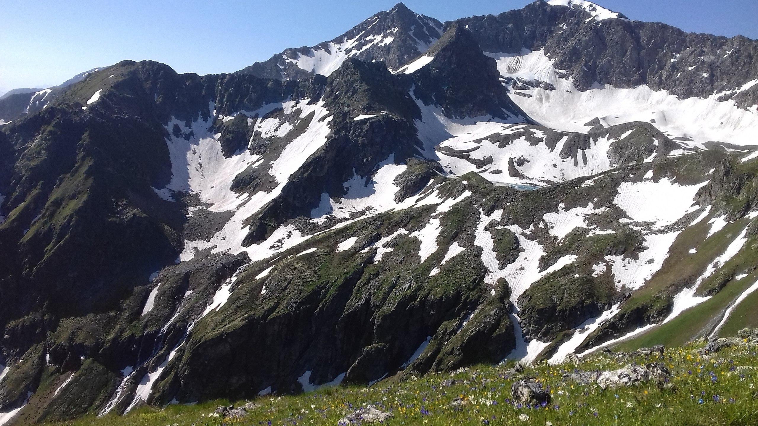 MegaTransCaucasus 2017: through the mountains to the sea. Part 3. To the top of Damhurts!