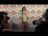 Vanessa Hudgens is a floral beauty at Foxs TCA After Party