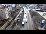 Дороги Волгограда за год до ЧМ-2018 взгляд с высоты птичьего полета