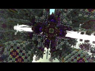 augmengeriations 3D fractal fly-throw test #1