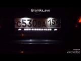 Рамка EVO с подсветкой надписи для BMW SIBERIA CLUB