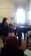 Концерт трио в Пушкине в музее