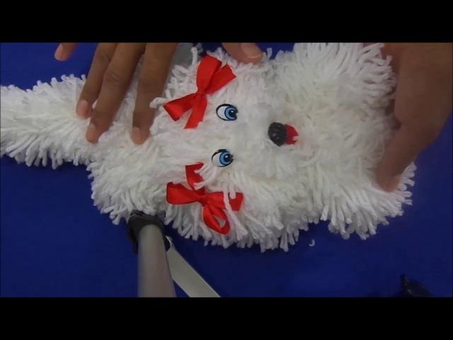Tutorial gato de lã gatinha de lã by cida reis