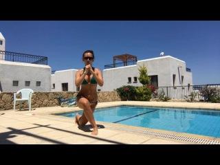 Маргарита Марсо продолжает знакомить своих поклонников с комплексом упражнений