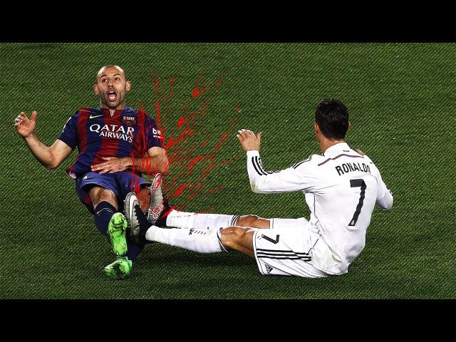 Cristiano Ronaldo vs FC Barcelona ● Horror Tackles, Brutal Fouls Angry Moments ● HD