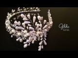 Ободок из жемчуга и хрусталя своими руками - влог Gilda