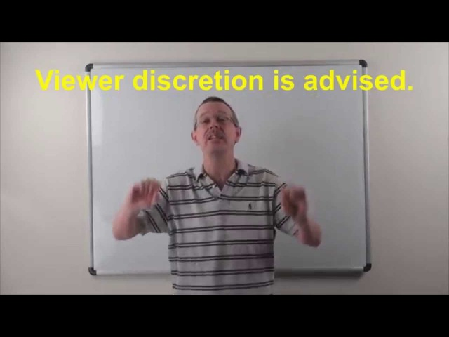 Learn English Daily Easy English 0868 Viewer discretion is advised.