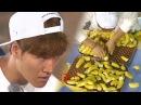 김종국, 능력자도 실패한 바나나 쪼개기 '1분 85개는 불가능' 《Running Man》런닝맨 EP455