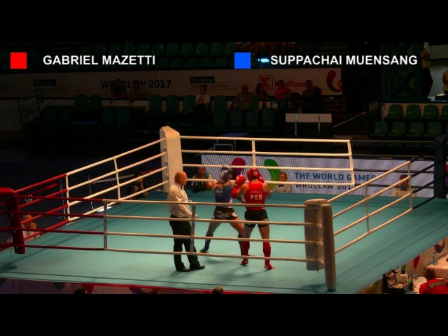 SUPERBON BANCHAMEK (THA) - GABRIEL MAZETTI (PER) | 71kg | Semi-finals