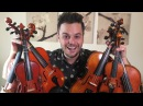PLAYING ONE SONG WITH 6 SMALL VIOLINS - Believer by Imagine Dragons (Live Loop Cover)