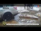 Улицы Екатеринбурга превратились в бурлящие реки