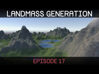 Procedural Landmass Generation (E17: texture shader)
