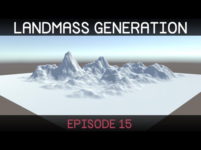 Procedural Landmass Generation (E15: data storage)