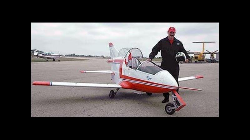 Самый маленький реактивный самолёт Colomban CriCri Jet