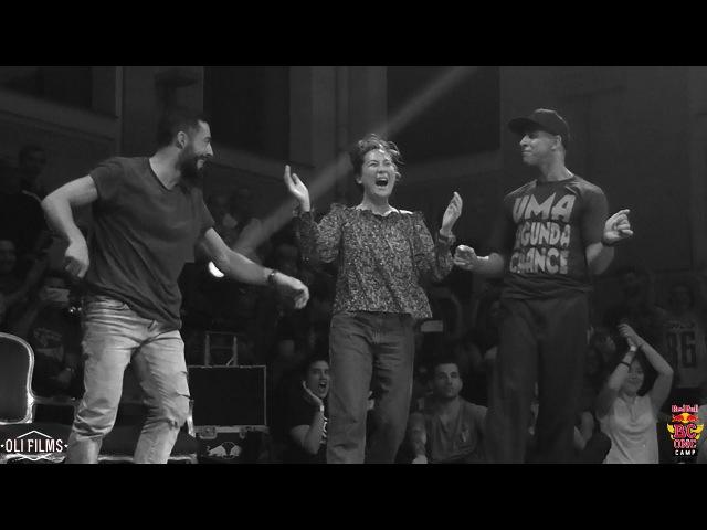 Dey Dey / Yaman / Salah Judge demo Allstyles RED BULL BC ONE CAMP SPAIN 2017 | OLIFILMS