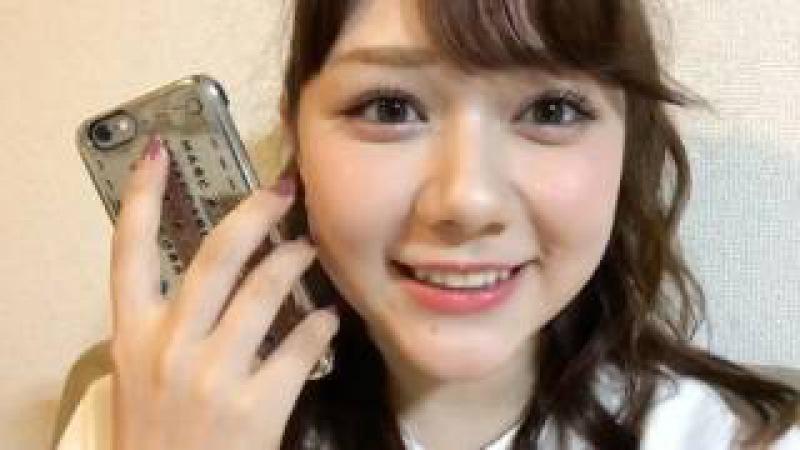 2017年06月05日 AKB48の明日(みょうにち)よろしく! 村重杏奈(HKT48 チームKIV) SHOWROOM あー1
