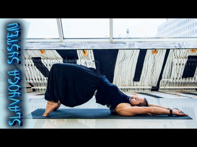 Тренировка по йоге с Сергеем Черновым 💎 Йога для начинающих ⭐ SLAVYOGA
