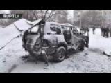 Lugansk militia commander killed in car bomb blast in eastern Ukraine