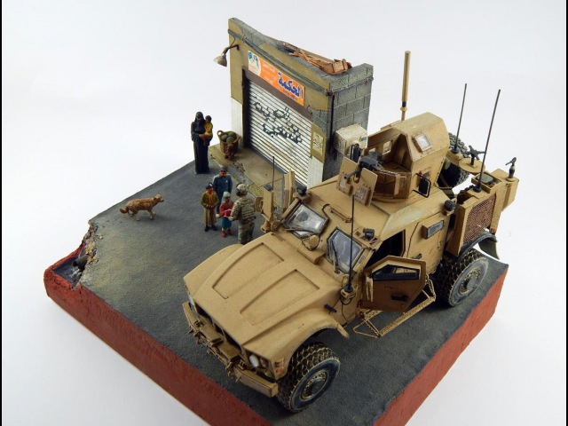 1/35 M-ATV Diorama