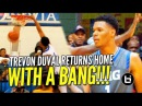#1 PG Trevon Duval Returns Home With a BANG! 2 Game Raw Highlights!
