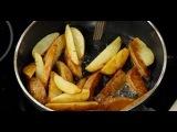 Как правильно жарить картошку по-деревенски (инструкция)   Илья Лазерсон  Обед б...