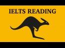 IELTS Academic exam reading preparation Canguro English