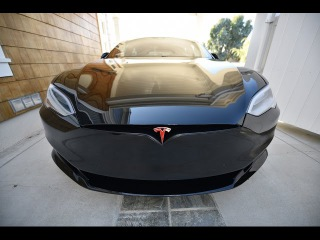 BLACK WIDOW Model S P100D Ludicrous. Chrome delete and Xpel Ultimate by Bemaro SF