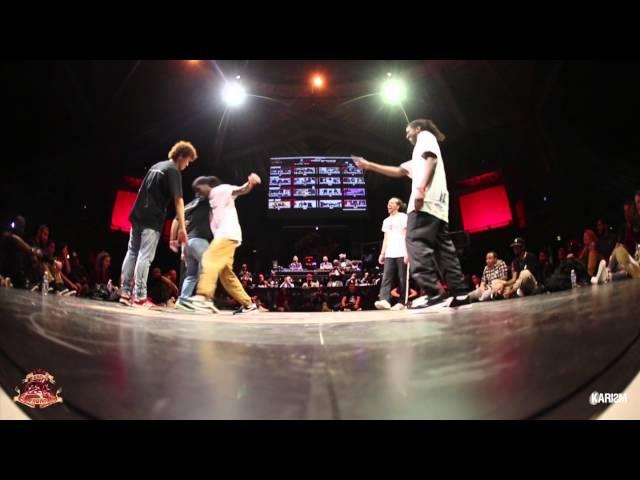 Cercle Underground 2016 - Finale House - Japan Team VS Serial Stepperz - Karism
