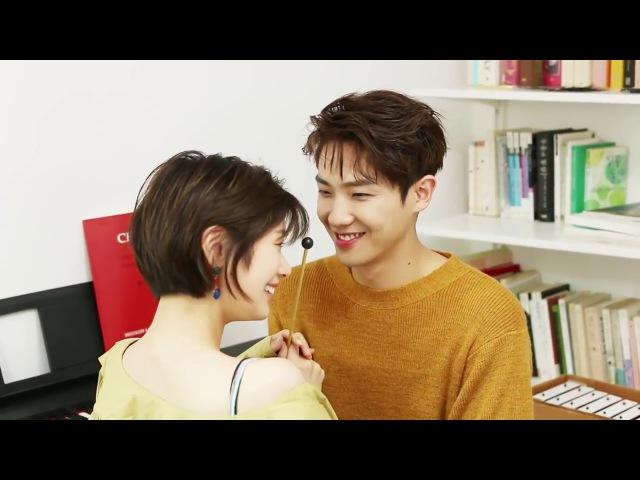 Jung So Min 정소민 Lee Joon 이준 (Behind the Scenes) Photoshoot Marie Claire Korea (july 2017)