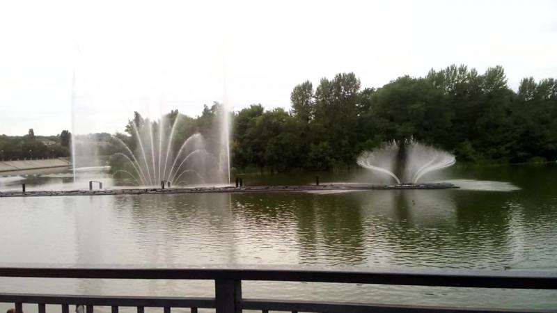 Вінниця танцюючий фонтан