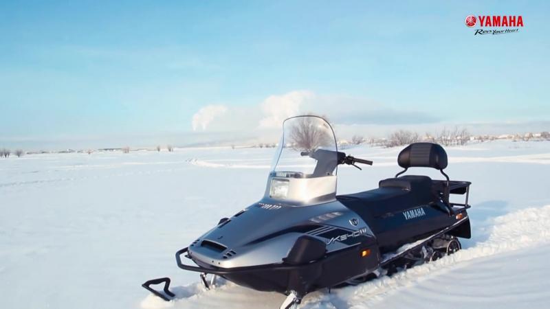 Снегоход Yamaha VK540 IV создан в Японии для русской зимы