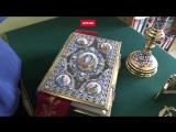Евангелие за 600 тысяч и крест с топазами. Как делают церковную утварь по цене авто