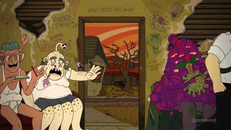 Mr. Pickles | Мистер Пиклз 2 сезон 6 серия Детектив Астродельфин